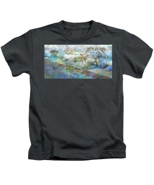 The Piano  Kids T-Shirt by Betsy Knapp
