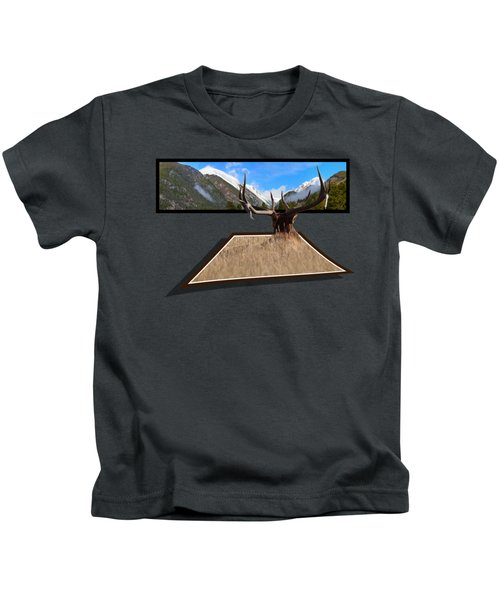 The View Kids T-Shirt by Shane Bechler
