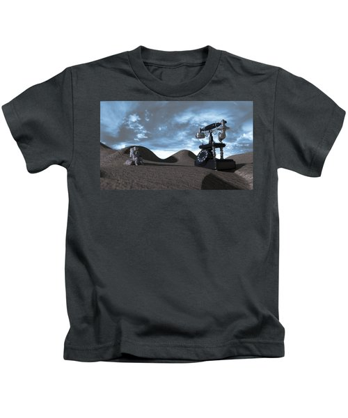Tomorrow Morning Kids T-Shirt by Brainwave Pictures