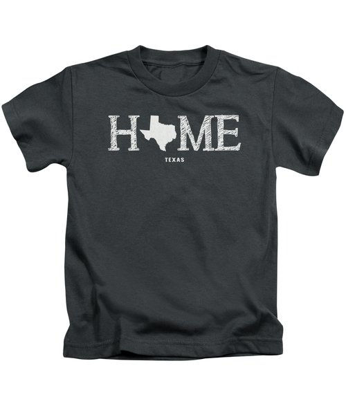 Tx Home Kids T-Shirt by Nancy Ingersoll