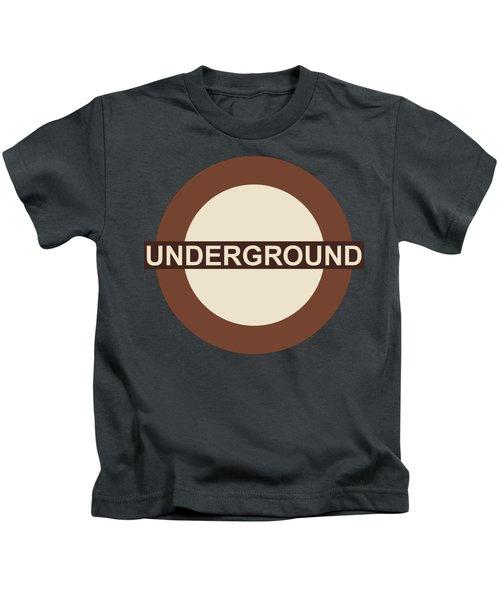 Underground75 Kids T-Shirt by Saad Hasnain