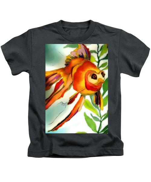 Underwater Fish Kids T-Shirt by Lyn Chambers