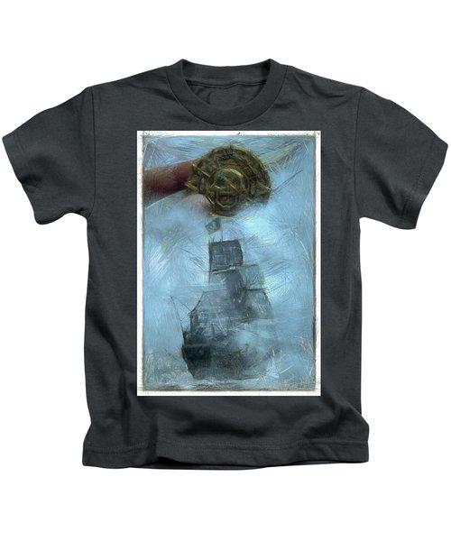 Unnatural Fog Kids T-Shirt by Benjamin Dean