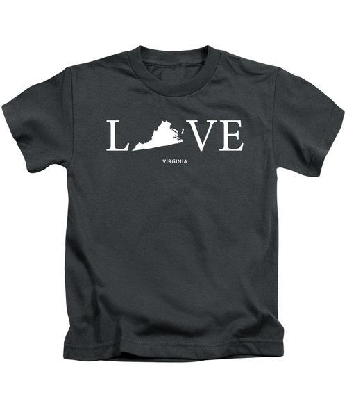 Va Love Kids T-Shirt by Nancy Ingersoll