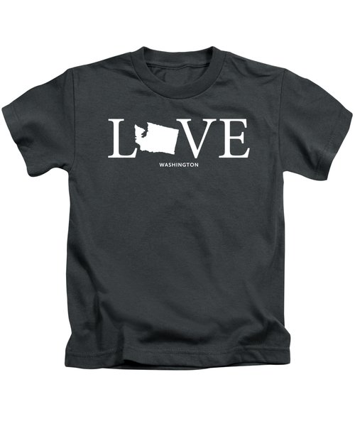 Wa Love Kids T-Shirt by Nancy Ingersoll