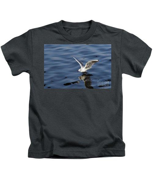 Walking On Water Kids T-Shirt by Michal Boubin
