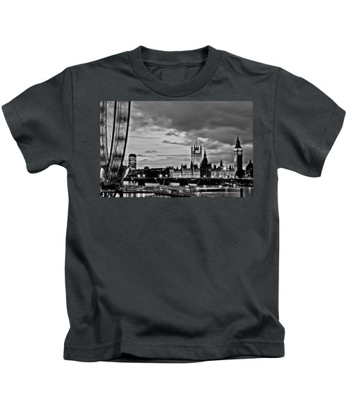 Westminster Black And White Kids T-Shirt by Dawn OConnor