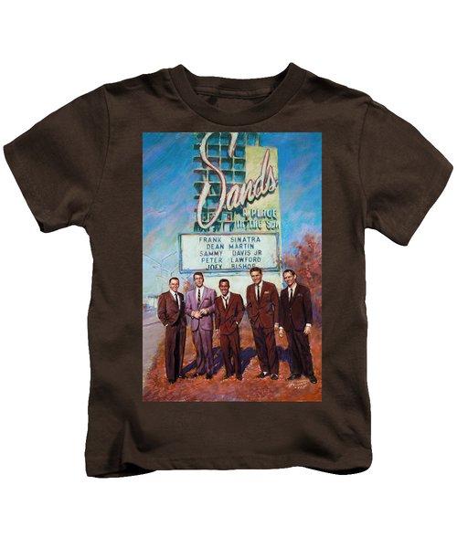 The Rat Pack Kids T-Shirt by Viola El