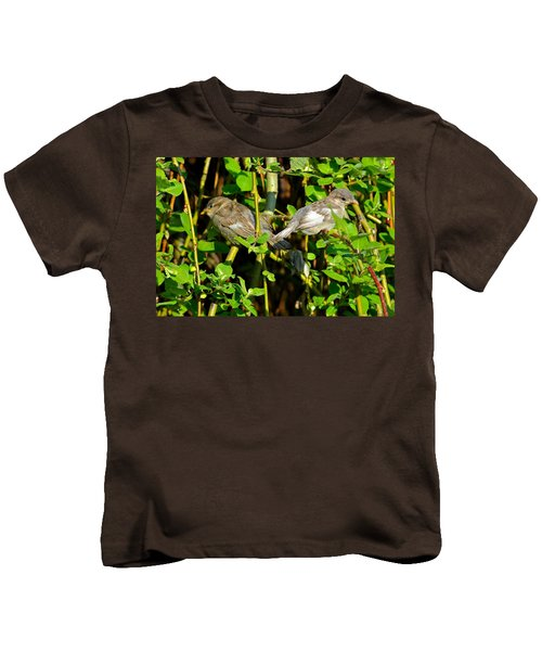 Babies Afraid To Fly Kids T-Shirt by Frozen in Time Fine Art Photography