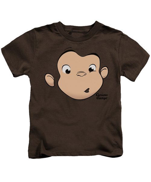 Curious George - George Face Kids T-Shirt by Brand A
