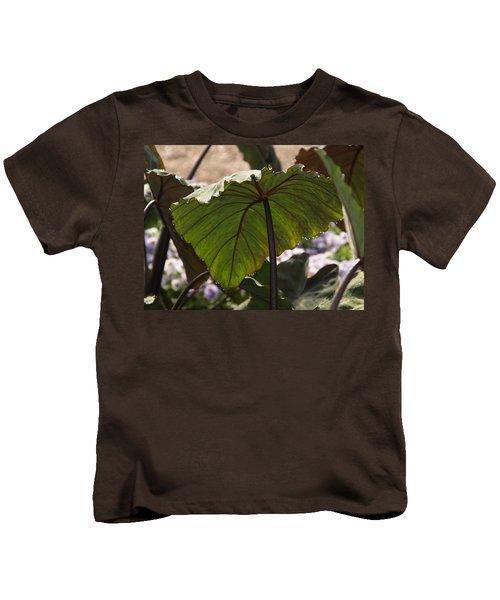 Elephant Ear Kids T-Shirt by James Peterson