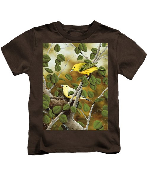 Love Nest Kids T-Shirt by Rick Bainbridge