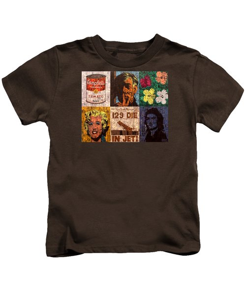 The Six Warhol's Kids T-Shirt by Brent Andrew Doty