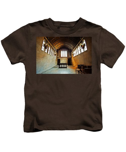 Of Stone And Wood Kids T-Shirt by CJ Schmit