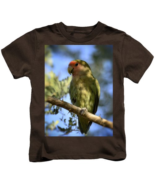 Pretty Bird Kids T-Shirt by Saija  Lehtonen