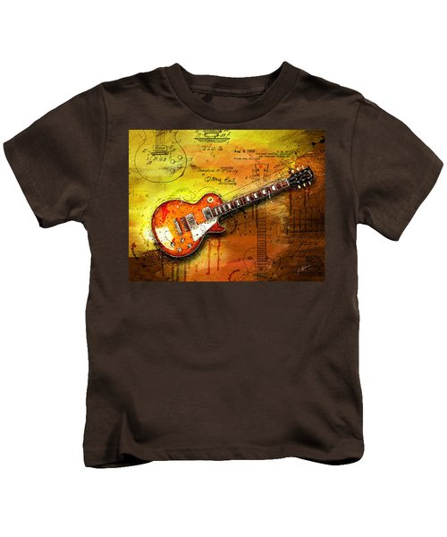 55 Sunburst Kids T-Shirt by Gary Bodnar