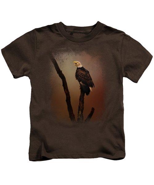 After The Autumn Storm Kids T-Shirt by Jai Johnson