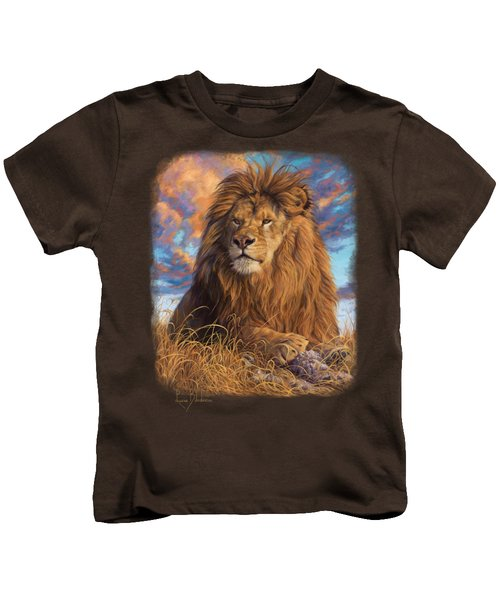 Watchful Eyes Kids T-Shirt by Lucie Bilodeau