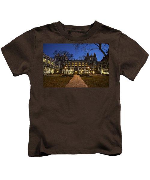 Blue Hour Harper Kids T-Shirt by CJ Schmit