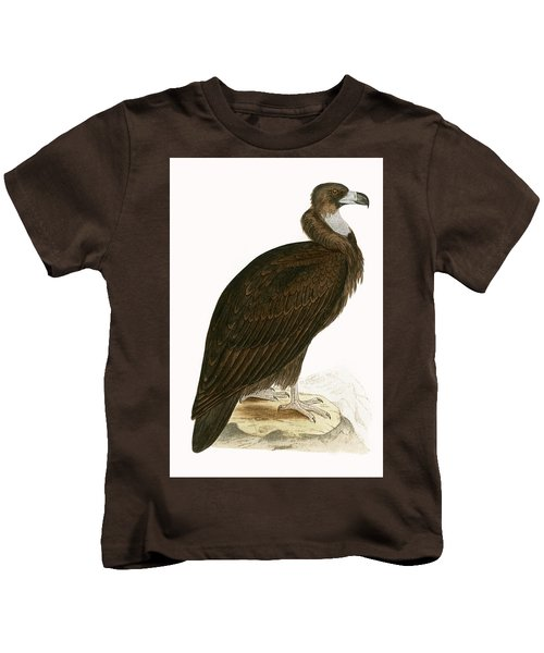Cinereous Vulture Kids T-Shirt by English School