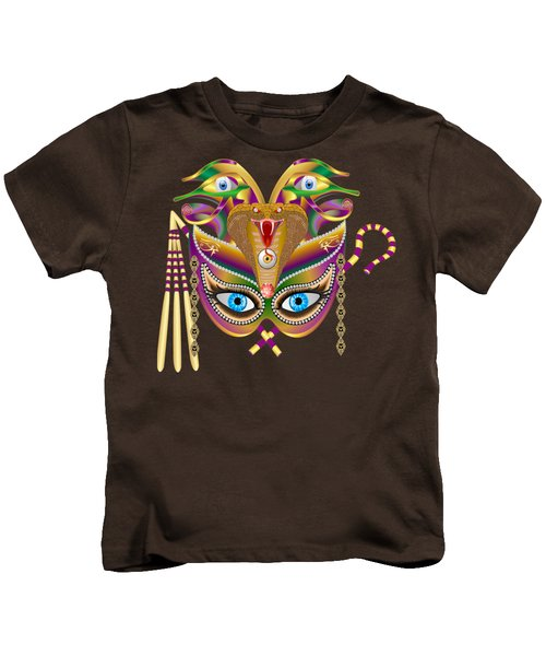 Cleopatra Viii For Any Color Products But No Prints Kids T-Shirt by Bill Campitelle