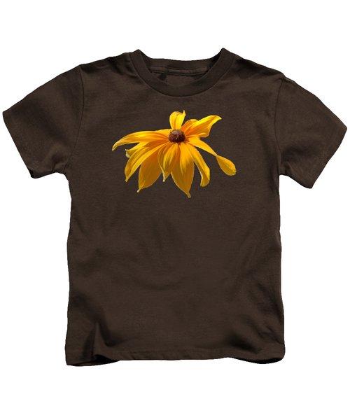 Daisy - Flower - Transparent Kids T-Shirt by Nikolyn McDonald