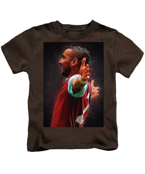 Dimitri Payet Kids T-Shirt by Semih Yurdabak