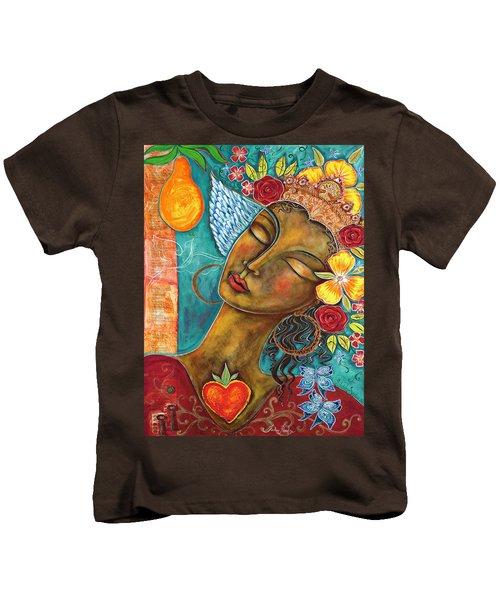 Finding Paradise Kids T-Shirt by Shiloh Sophia McCloud