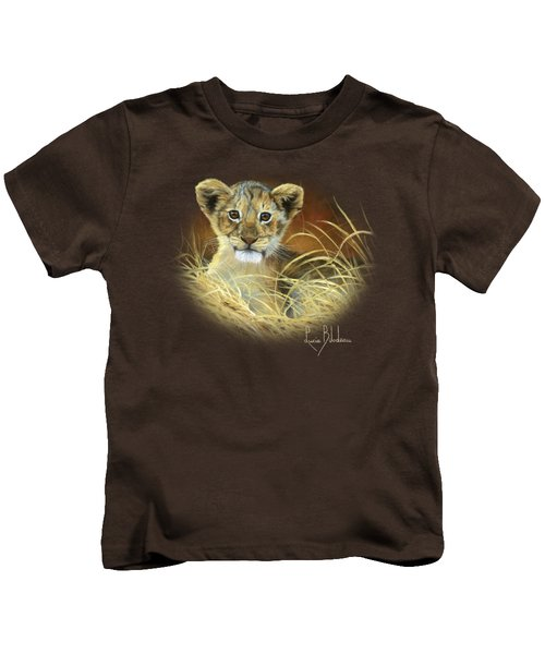 King To Be Kids T-Shirt by Lucie Bilodeau