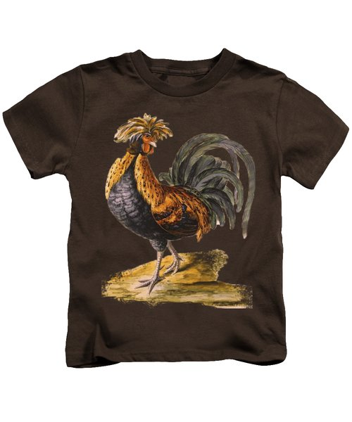 Le Coq Rooster T Shirt Design Kids T-Shirt by Bellesouth Studio