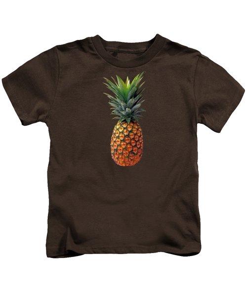 Pineapple Kids T-Shirt by T Shirts R Us -