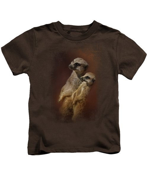 Standing At Attention Kids T-Shirt by Jai Johnson