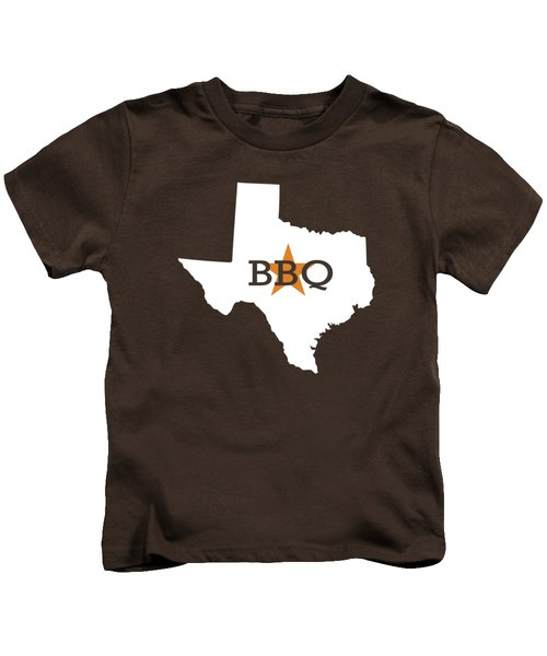Texas Bbq Kids T-Shirt by Nancy Ingersoll