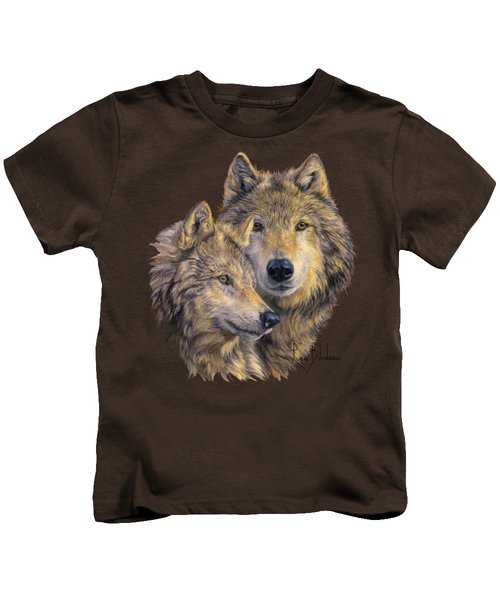The Bond Kids T-Shirt by Lucie Bilodeau