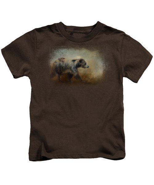 The Long Walk Home Kids T-Shirt by Jai Johnson