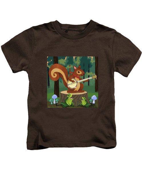 The Nutport Croak Music Festival Kids T-Shirt by Little Bunny Sunshine
