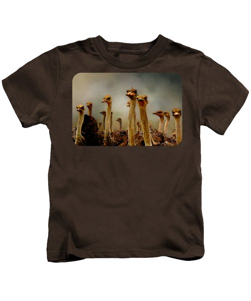 The Savannah Gang Kids T-Shirt by Linda Koelbel