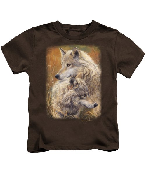 Together Kids T-Shirt by Lucie Bilodeau