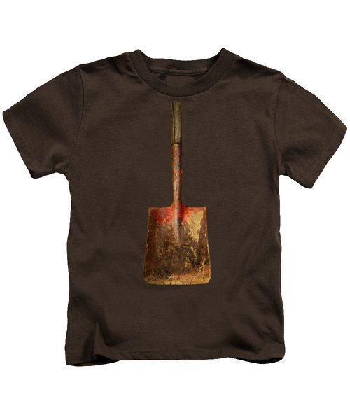 Tools On Wood 2 Kids T-Shirt by YoPedro