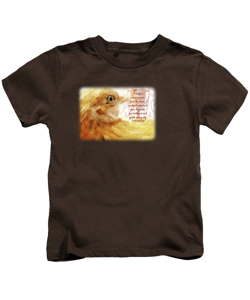 Vanity Fair - Verse Kids T-Shirt by Anita Faye