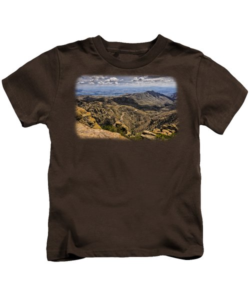 Windy Point No.1 Kids T-Shirt by Mark Myhaver