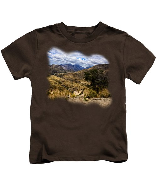 Windy Point No.15 Kids T-Shirt by Mark Myhaver