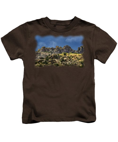 Windy Point No.7 Kids T-Shirt by Mark Myhaver