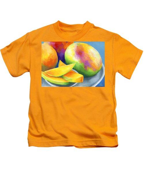 Last Mango In Paris Kids T-Shirt by Stephen Anderson