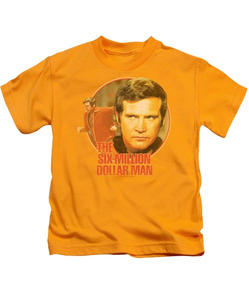 Six Million Dollar Man - Run Faster Kids T-Shirt by Brand A