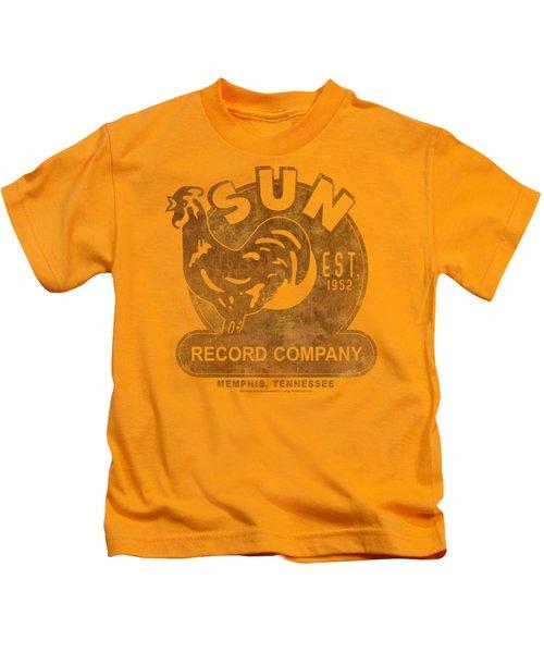 Sun - Sun Record Kids T-Shirt by Brand A
