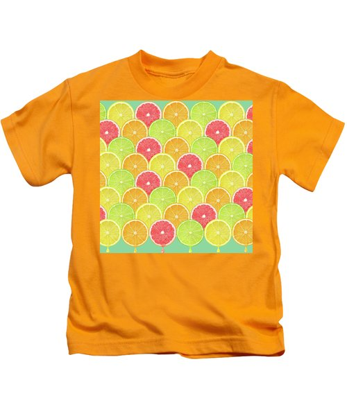Fresh Fruit  Kids T-Shirt by Mark Ashkenazi