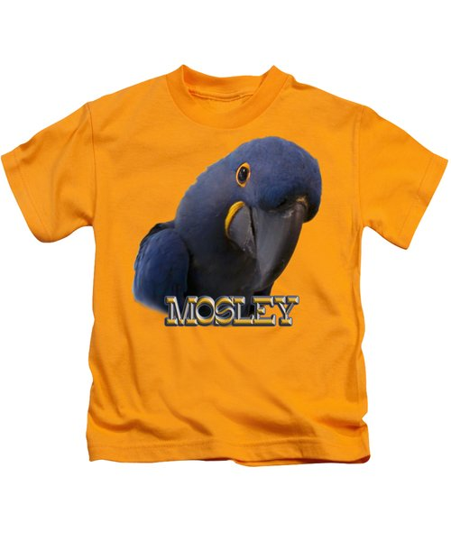 Mosley Kids T-Shirt by Zazu's House Parrot Sanctuary