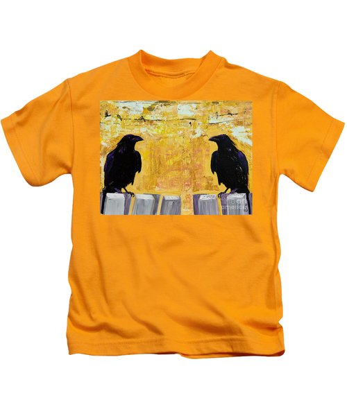 The Gossips Kids T-Shirt by Pat Saunders-White