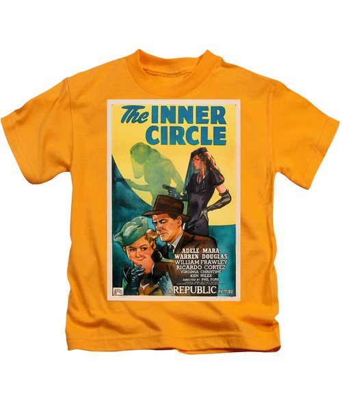 The Inner Circle 1946 Kids T-Shirt by Mountain Dreams
